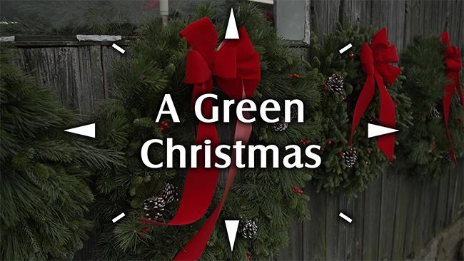 Green Christmas Logo