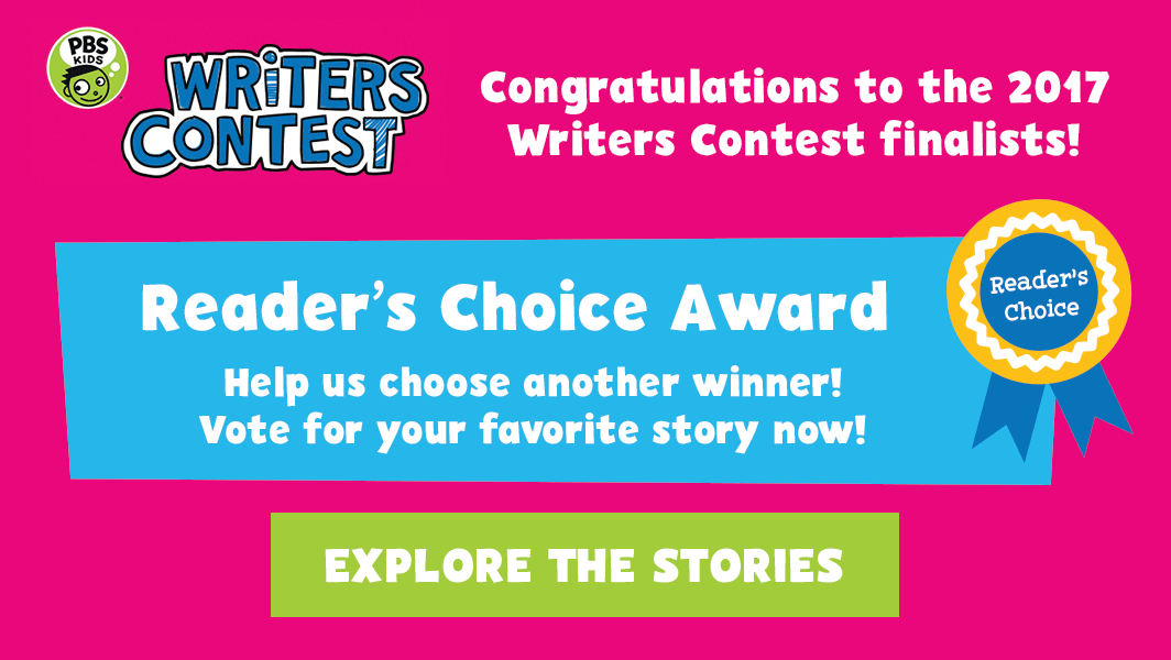 Vote for the Writers Contest Reader's Choice Award