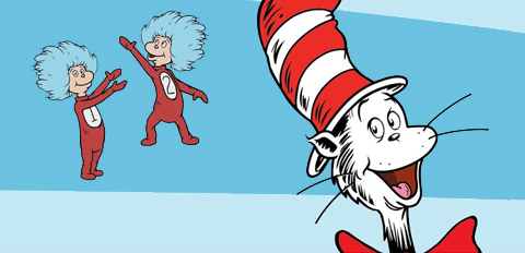 The Cat in the Hat, Thing 1 and Thing 2