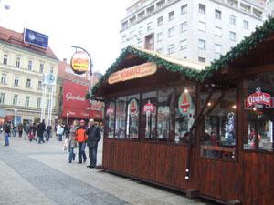 Sausage stand