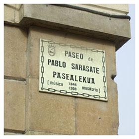 Paseo Sarasate