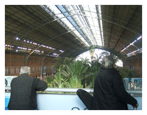 train station in Atocha