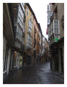 street in Vittorio