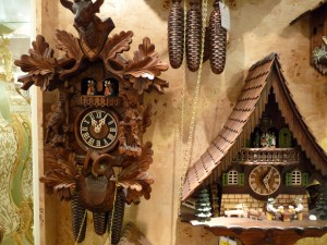 Original Black Forest Cuckoo Clocks in Lucerne