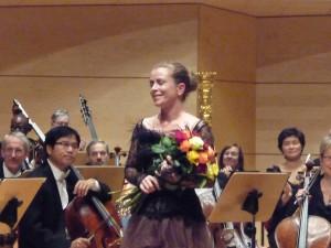 Christine Schäfer after Strauss' Four Last Songs