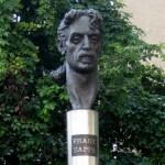 Frank Zappa memorial (photo by David Sogg)