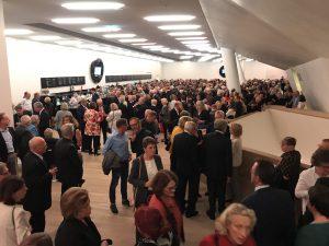 During intermission at the Elbphilharmonie