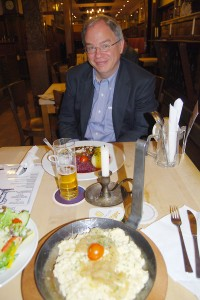 Jim Cunningham at the Gasthaus Im Stiefel