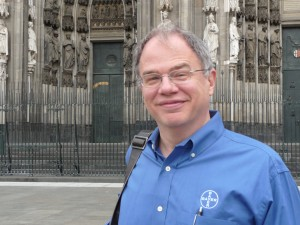 Jim Cunningham at Cologne Cathedral
