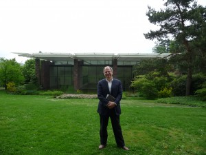 Jim Cunningham at the Beyeler Museum. Click the photo for more pictures.