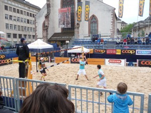Beach Volleyball in Basel