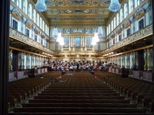 Golden Hall of the Vienna Musikverein