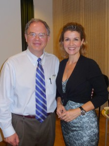 Jim Cunningham and Anne-Sophie Mutter