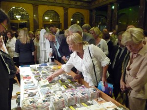 CDs for sale at the Kurhaus
