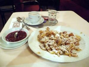 Kaiserschmarrn at Vienna's Cafe Frauenhuber