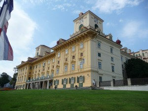 Schloss (Esterhazy Winter Palace) at Eisenstadt