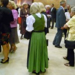 Green dirndl at Grafenegg