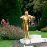 Small Johann Strauss statue