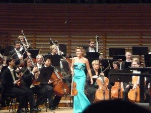 Anne-Sophie Mutter with the PSO in  Lucerne