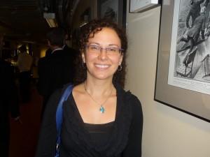 PSO second violinist Laura Motchalov