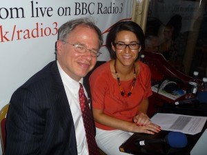 Co-hosting the Proms with BBC presenter Suzie Klein