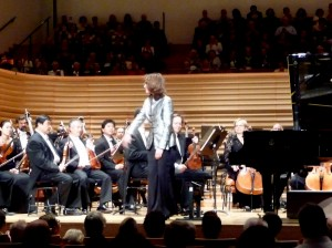 Helene Grimaud with the Pittsburgh Symphony at the Salle Pleyel in Paris