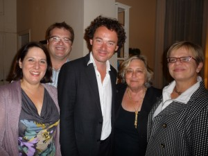 Frances DeBroff welcomes Pittsburghers and Pittsburgh Opera guest conductor Jean-Luc Tingaud to her Paris Pied-a-terre