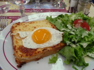 Croque-madame at Chez Eugène
