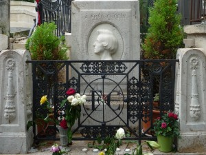 Frederic Chopin at Père Lachaise