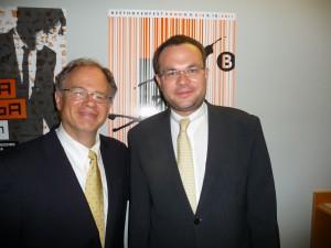 With David Mareček