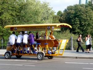 Bierbike in Berlin