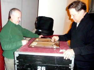 Snitkovsky v. Soroka backgammon match (34 years and counting)