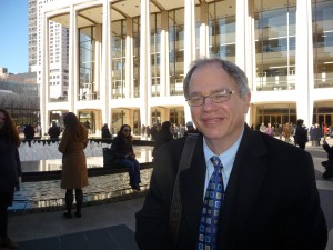 Jim Cunningham at Avery Fisher Hall