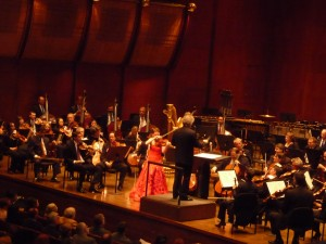 Hilary Hahn with the PSO at Avery Fisher Hall