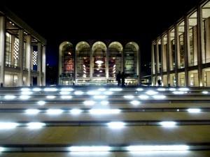 Lincoln Center at dusk