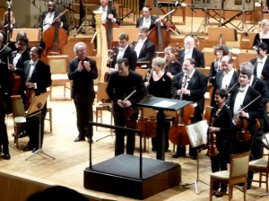 Nikolaj Znaider in Madrid with the PSO