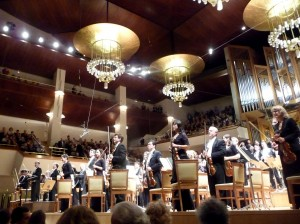 "After Mahler's ""Resurrection"" Symphony in Madrid"