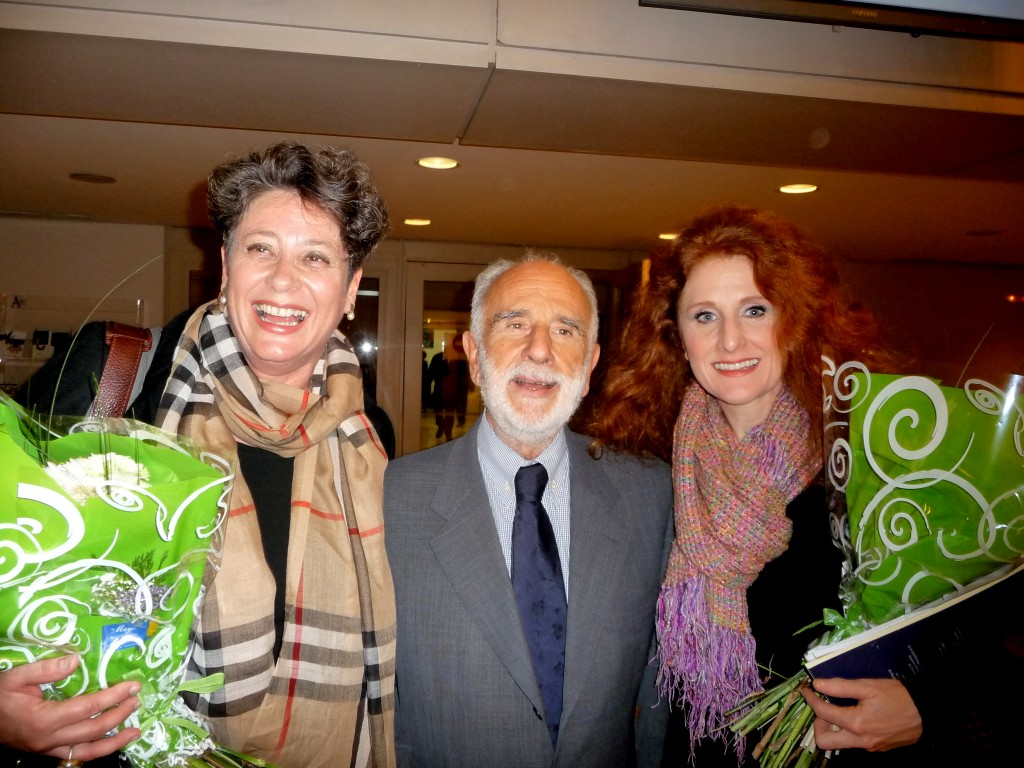 Gerhild Romberger, Alfonso Aijon, and Laura Claycomb