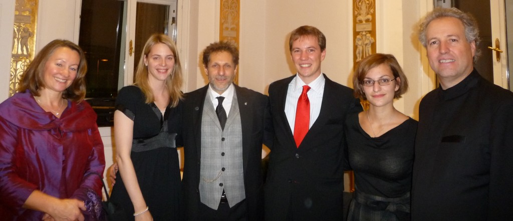 Honeck family at the Musikverein