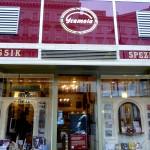 Gramola record shop in Vienna