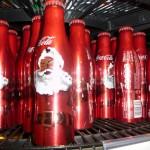 """Coca-Cola mit """"Weinachtsmann"""""""