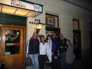 Pittsburgh's Winkler family at Winklers restaurant in Vienna