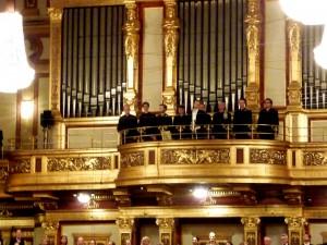 Hofkapelle in the choir loft