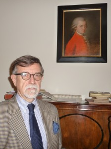 Dr. Otto Biba, director of archives at the Musikverein