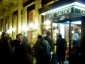 Café at the Hotel Sacher