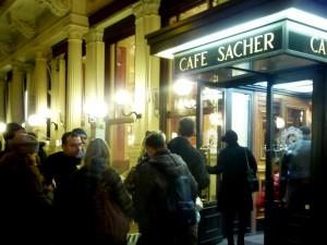 Café at the Hotel Sacher
