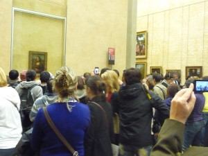 Mona Lisa, rock star of the Louvre