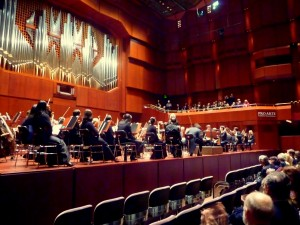 Pittsburgh Symphony on stage in Frankfurt