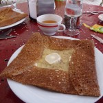 Crêpe at Giverny