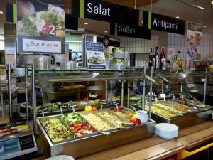 Serways salad bar